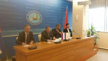 Contract for the reconstruction of drinking water treatment plant