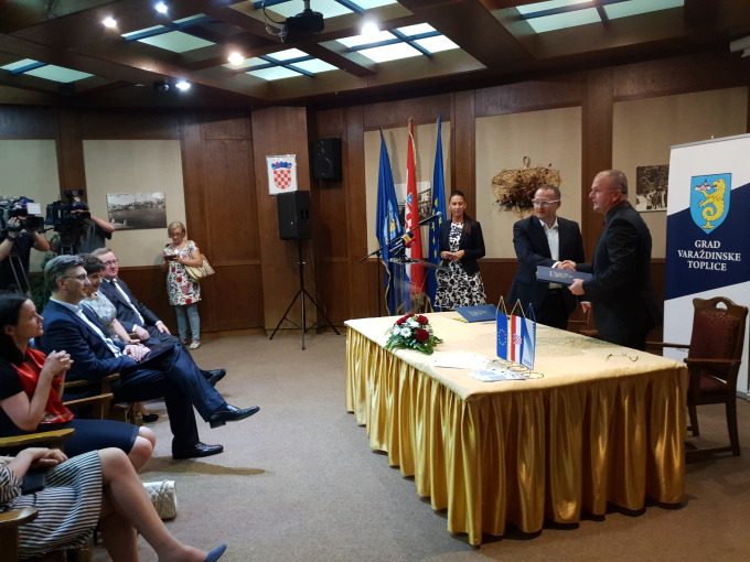 Signing of the Agreement for the Design and Construction of the Municipal Wastewater Treatment Plant in Varaždinske Toplice